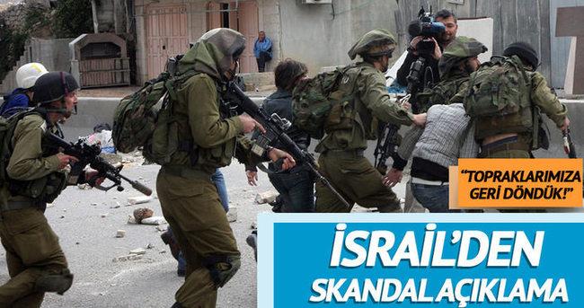 İsrailli bakan yardımcısı: Batı Şeria'yı ilhak edelim