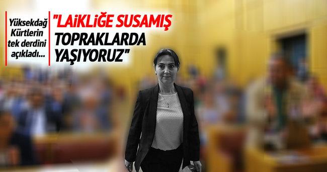 Figen Yüksekdağ'dan laiklik açıklaması!