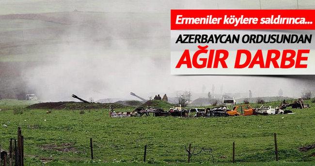 Ermenistan ordusu Azerbaycan'daki yerleşim birimlerini hedef aldı