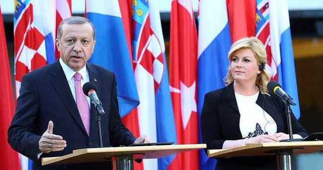 Erdoğan: Hedef 1 milyar doları yakalamak olmalı