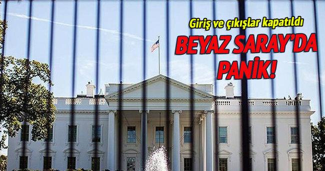 Beyaz Saray'a girme girişimi!