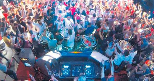 Bahar festivalinde 2 bin kişi eğlendi