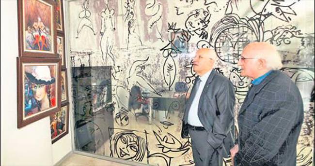 Başkan Yaşar'a özel müze turu