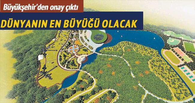 Dünyanın en büyük şehir parkı Esenler'e yapılıyor
