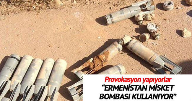 Ermenistan sivillere misket bombası attı