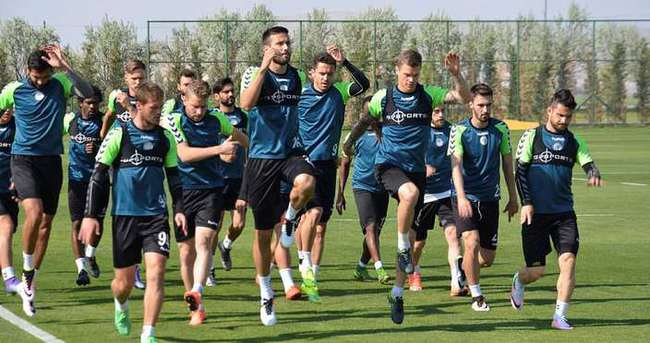 Konyaspor'da Antalya mesaisi