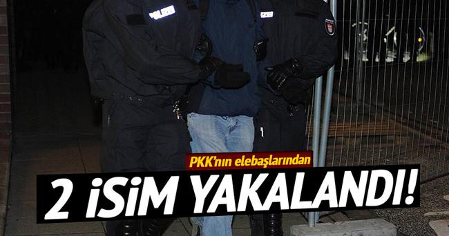PKK'nın elebaşlarından 2 kişi yakalandı