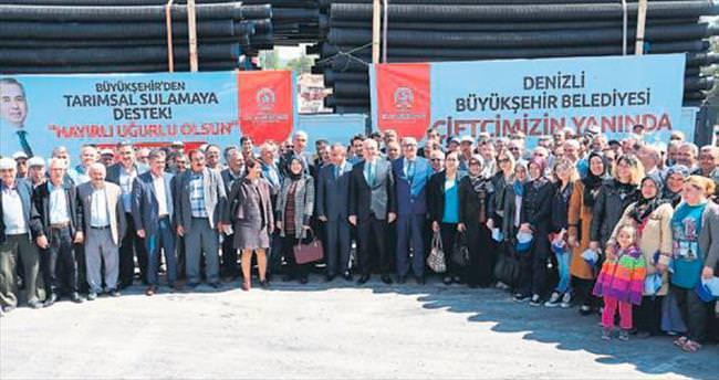 Büyükşehir'den tarıma dev destek