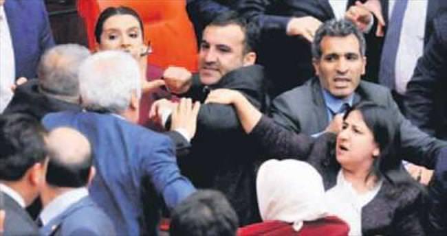 HDP'li Ferhat Encü Meclis'i karıştırdı