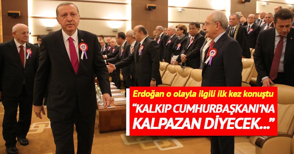 Erdoğan o olayla ilgili ilk kez konuştu
