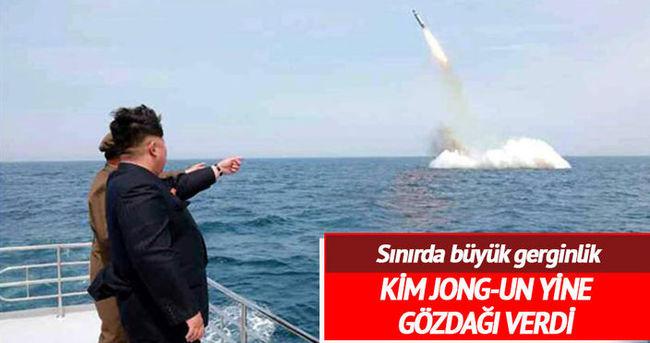 Kuzey Kore'den dünyaya gözdağı!