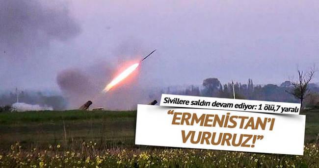 Ermenistan yine sivilleri hedef aldı: 1 ölü