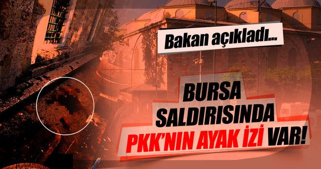 Bursa saldırısında PKK iddiası!