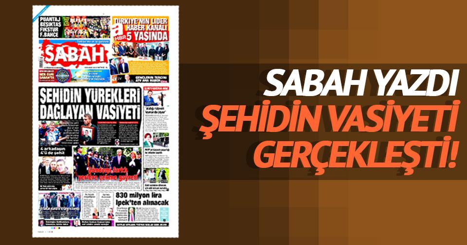 Ankara şehit Kul'un vasiyetine sahip çıktı
