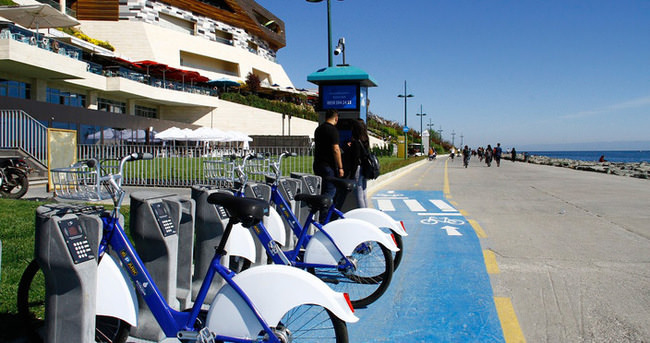 Florya–Yeşilköy arasında Akıllı Bisiklet dönemi