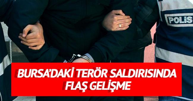 Bursa'daki terör saldırısında 2 gözaltı