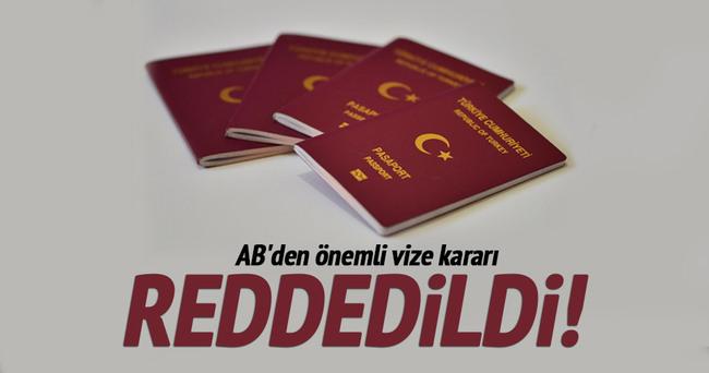 O ÖNERİ AB KOMİSYONU'NDA REDDEDİLDİ!
