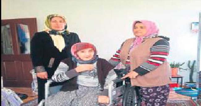 Fatma Nine'nin sandalye sevinci