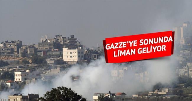 Gazze'ye sonunda liman geliyor