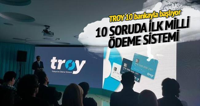 TROY 10 bankayla başlıyor