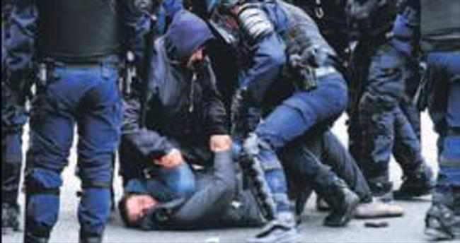 Fransız polisinden göstericilere orantısız güç