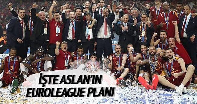 İşte Aslan'ın Euroleague planı