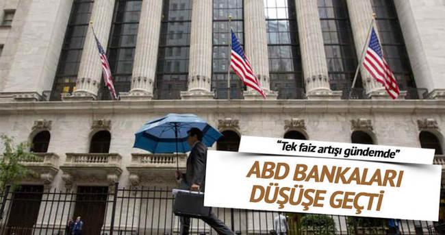 ABD'li bankaların karı düşük kaldı