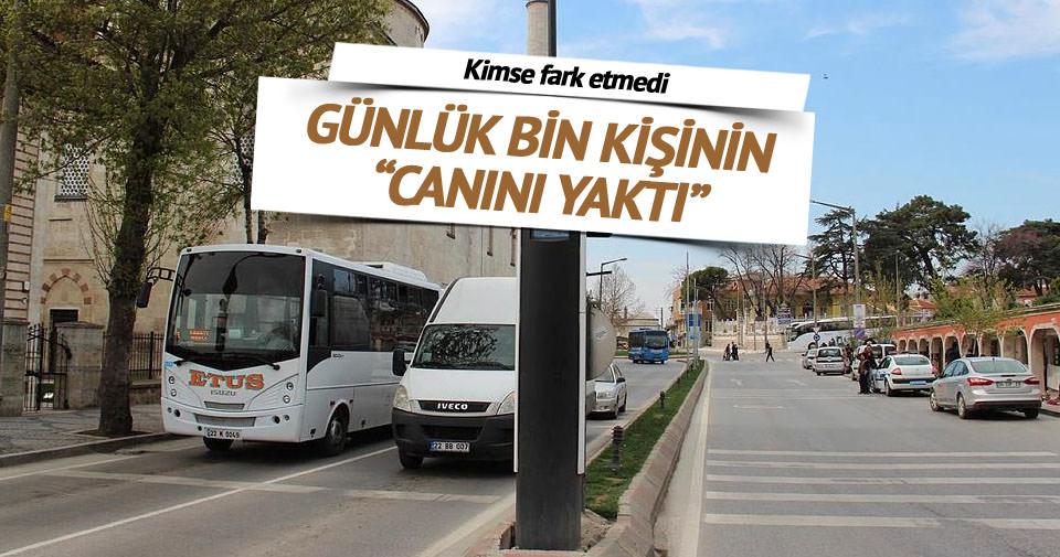 Edirne'de kule radarlarla 10 günde 10 bin sürücüye ceza