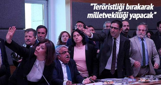 Teröristliği bırakarak, milletvekilliği yapacak