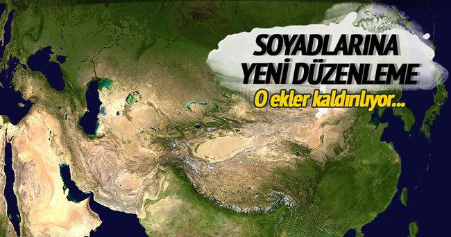 Tacikistan'da soyadlarına yeni düzenleme