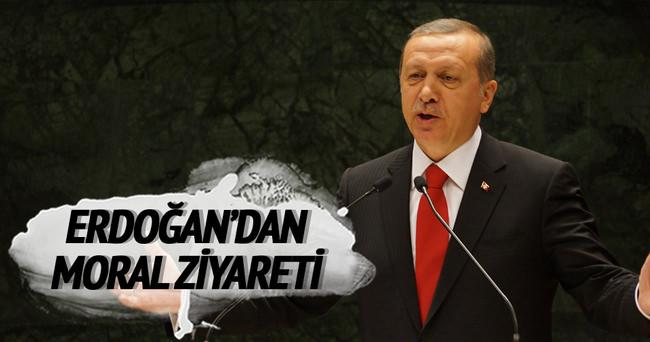 Cumhurbaşkanı Erdoğan'dan karatecilere moral ziyareti