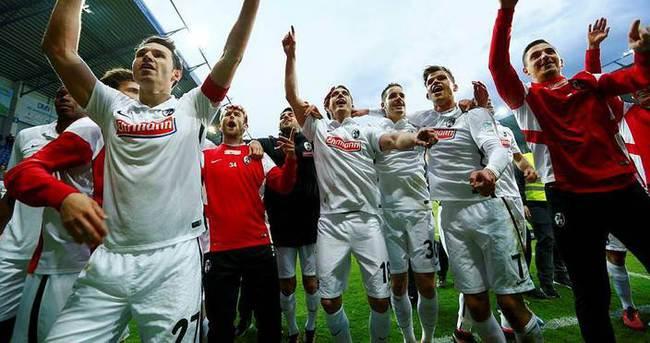 İşte Bundesliga'ya yükselen ilk takım
