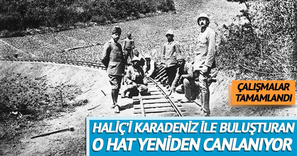 İstanbul'un tarihi Haliç-Karadeniz Sahra Hattı canlanıyor