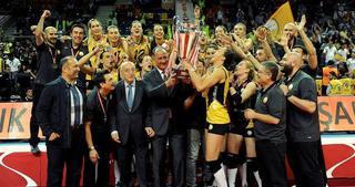 Filede VakıfBank şampiyon