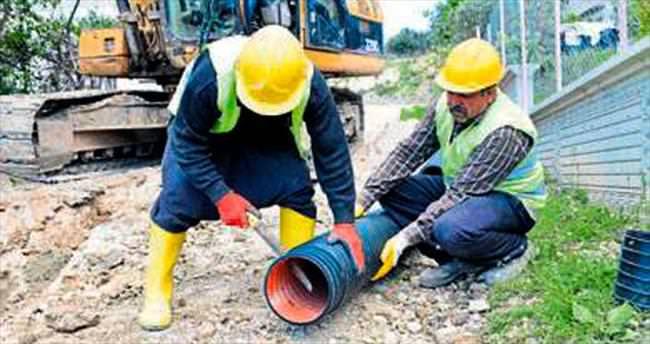 Kanalizasyon 2 yılda bitirildi