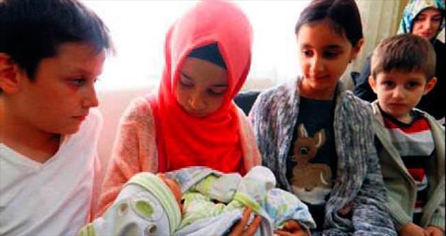 Şehit aileleri Umut Nuh bebek için bir araya geldi