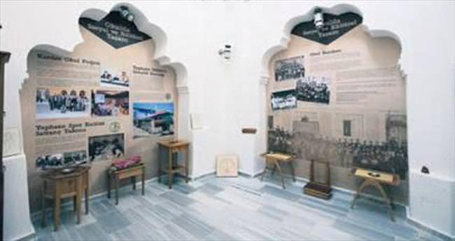 Tarihi hamam eğitim müzesine dönüştürüldü