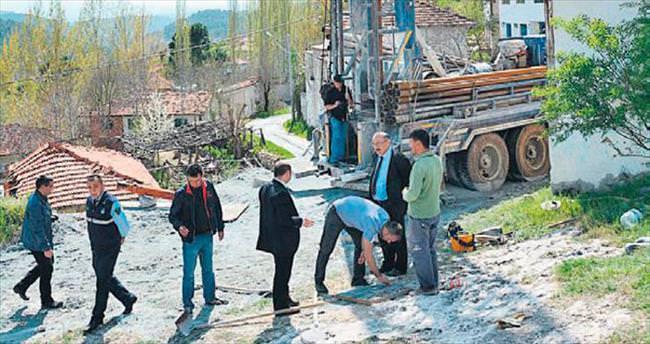 Harmancık'ta yeni bir kaynağa ulaşıldı