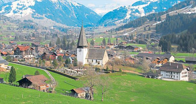 Aristokratların tercihi: Gstaad