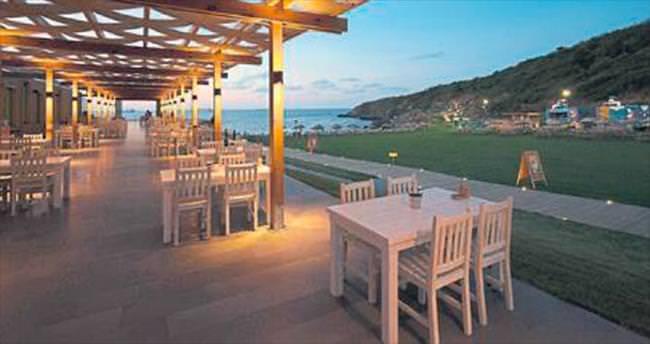 Önce lokanta sonra plaj