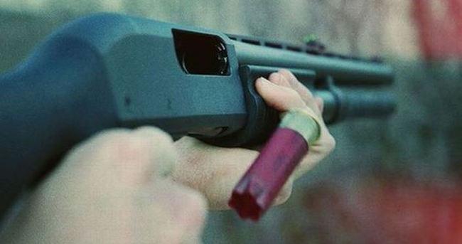 Kızının nişanlısını av tüfeğiyle yaraladı