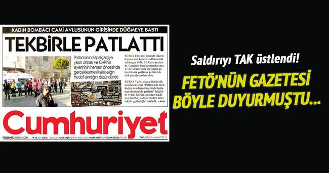 Bursa'daki canlı bomba PKK'lı çıktı