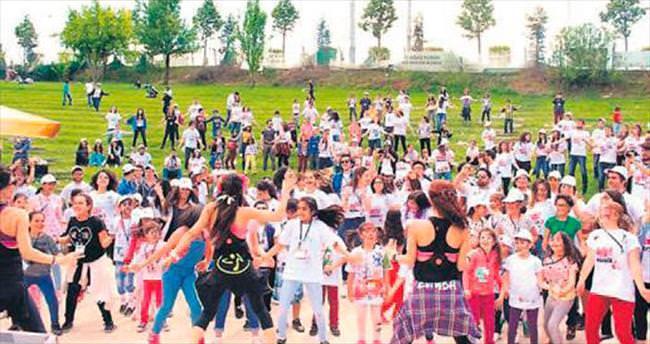 Ankara Gönüllü Takımı çocuklar gibi şendi