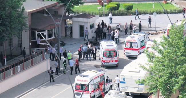 Gaziantep'te polise hain saldırı