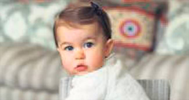 Prenses Charlotte'ın birinci yaş günü