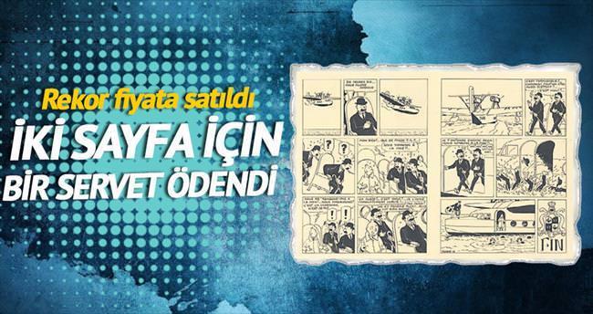 İki sayfası için 1 milyon euro