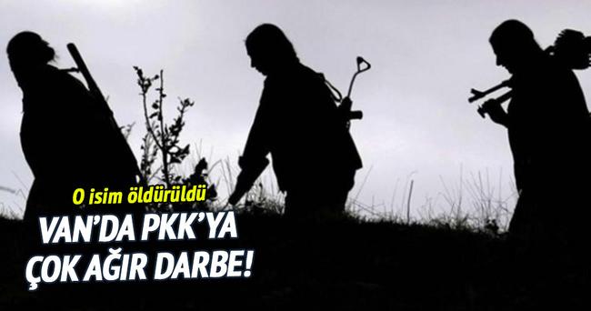 Van'da PKK'nın sözde sorumlusu öldürüldü!