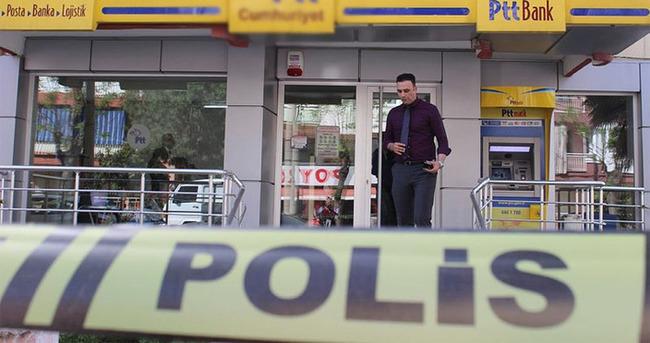 Beyoğlu'nda PTT şubesinde soygun