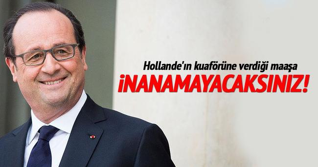 Hollande'ın kuaförüne verdiği maaş dudak uçuklattı
