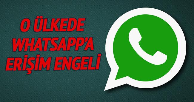 Brezilya'da Whatsapp'a erişim engeli!